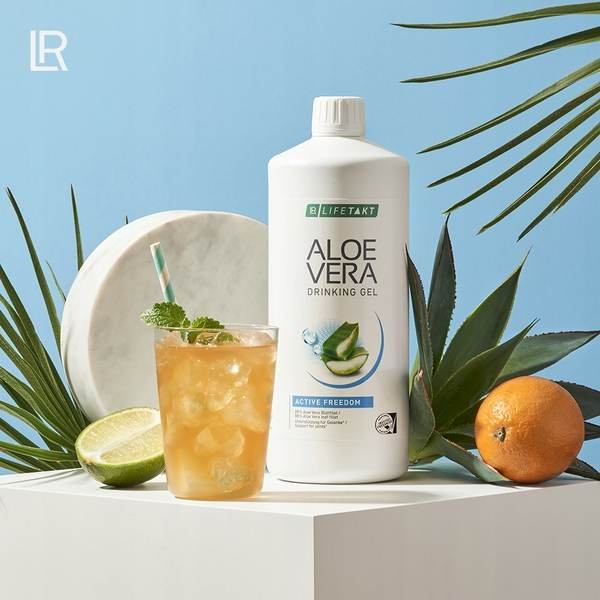 LR LIFETAKT Aloe Vera Drinking Gel Active Freedom
