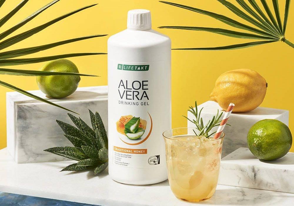 LR LIFETAKT Aloe Vera Drinking Gel z Miodem