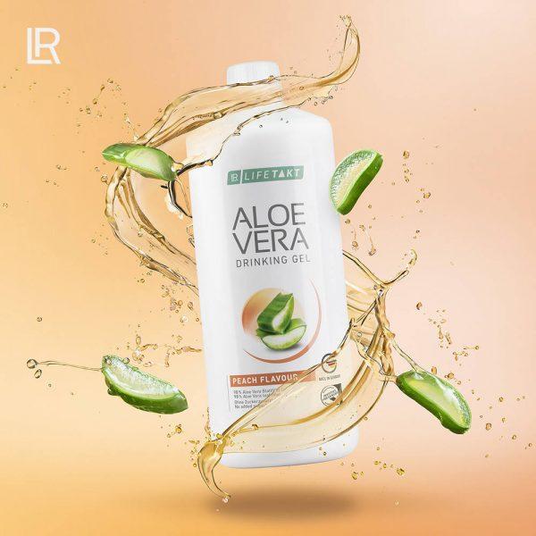 LR LIFETAKT Aloe Vera Drinking Gel Brzoskwiniowy