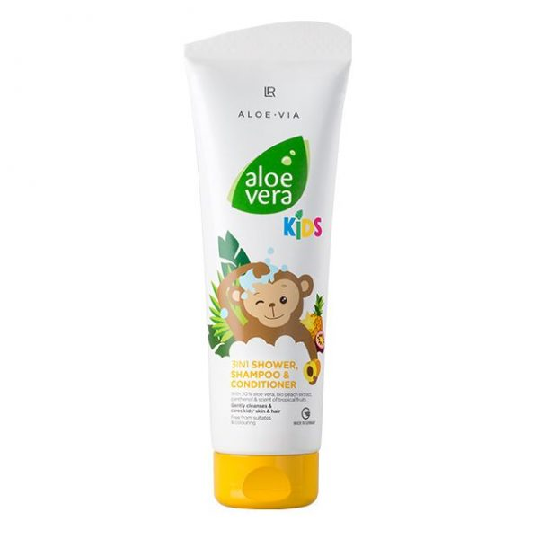 LR Aloe Vera kids 3w1 żel pod prysznic szampon odżywka