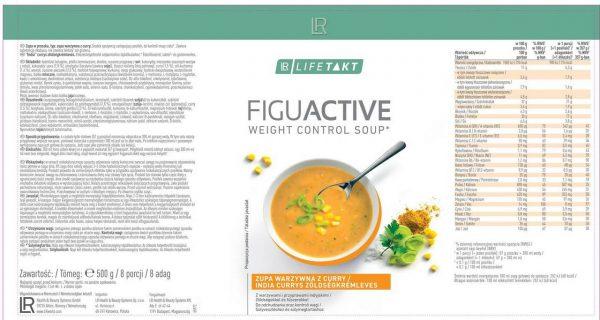 LR Lifetakt Figu Active Zupa warzywna z curry