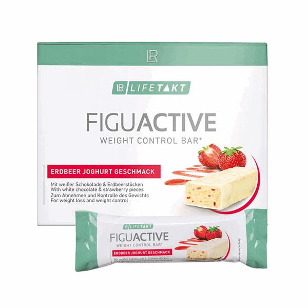 LR Lifetakt Figu Active batony o smaku truskawkowo-jogurtowym