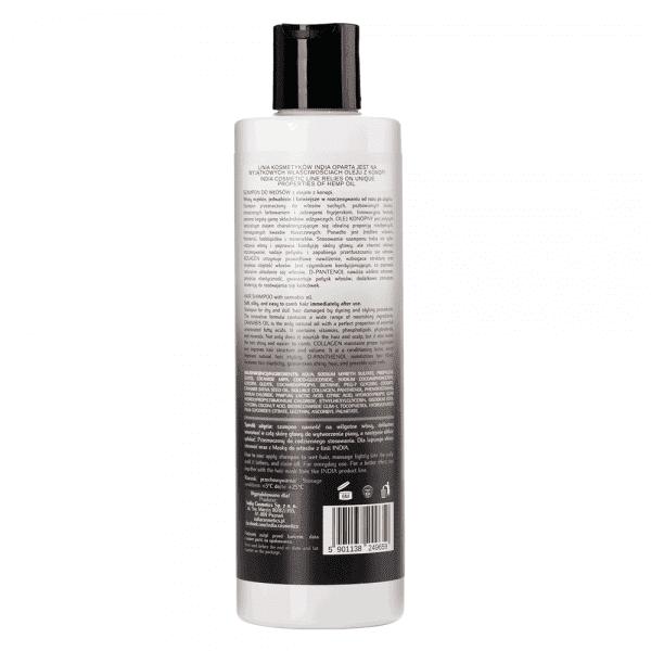 Szampon do włosów z olejem z konopi
