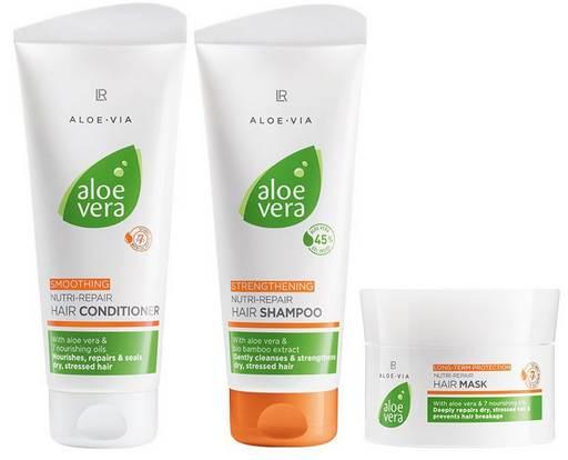 LR ALOE VIA Nutri Repair zestaw do pielęgnacji włosów