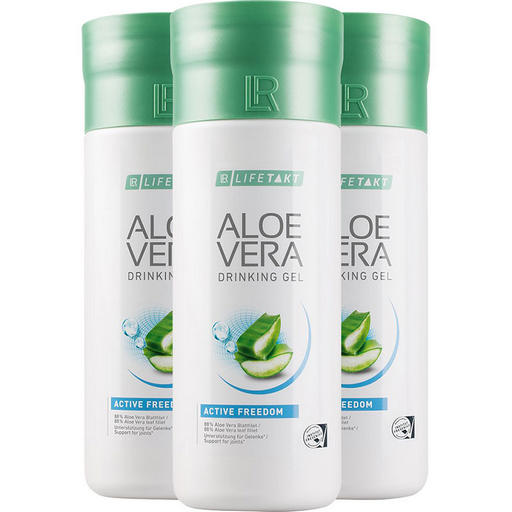 LR LIFETAKT Aloe Vera Drinking Gel Active Freedom trójpak