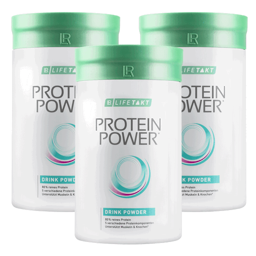 LR Lifetakt Figu Active Protein Power trójpak
