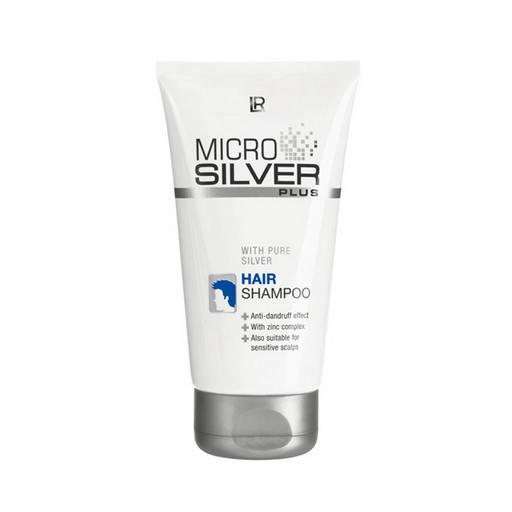 LR MICROSILVER PLUS szampon przeciwłupieżowy