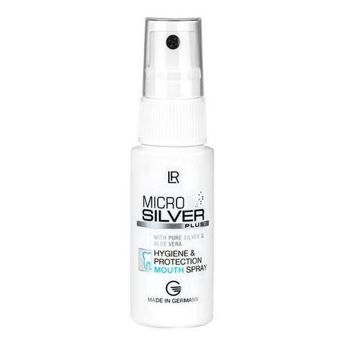 LR Microsilver Spray do ust ze srebrem na świeży oddech