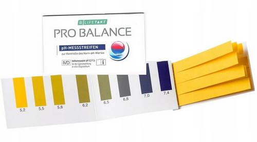 Paski Pro Balance do pomiaru pH