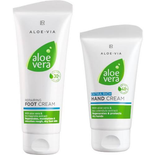 LR Aloe Vera zestaw pielęgnacja dłoni i stóp