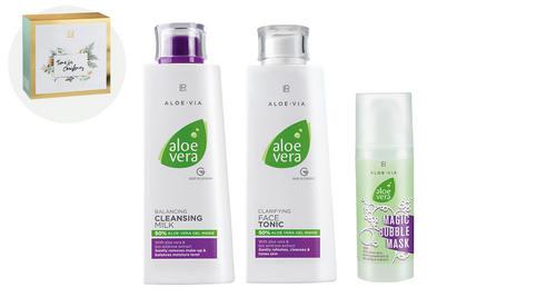 LR Aloe Vera zestaw oczyszczanie twarzy