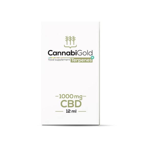 Olejek CBD Cannabigold Terpenes+ 1000 mg