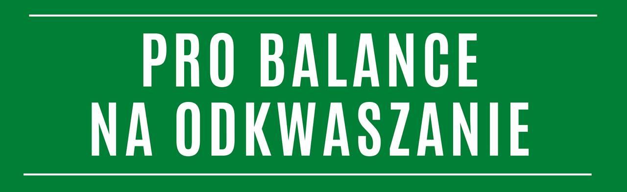 Pro Balance LR na odkwaszanie